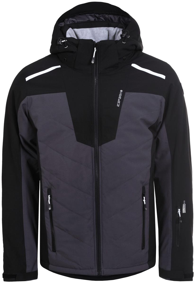 Куртка муж Icepeak, цвет: черный. 856119839IV_990. Размер 50856119839IV_990