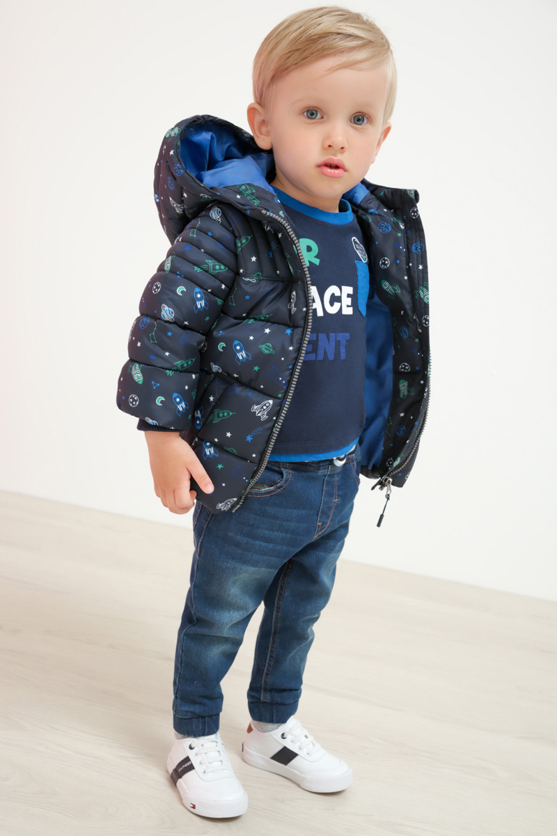 Куртка для мальчика Maloo by Acoola Pegasus, цвет: темно-синий. 22150130005_600. Размер 9222150130005_600