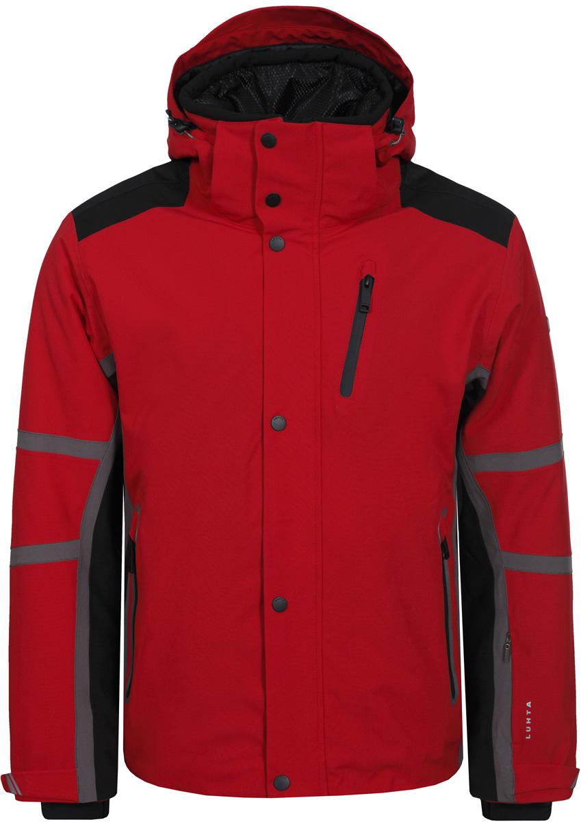 Куртка муж Luhta, цвет: красный. 838527839LV_650. Размер 48838527839LV_650