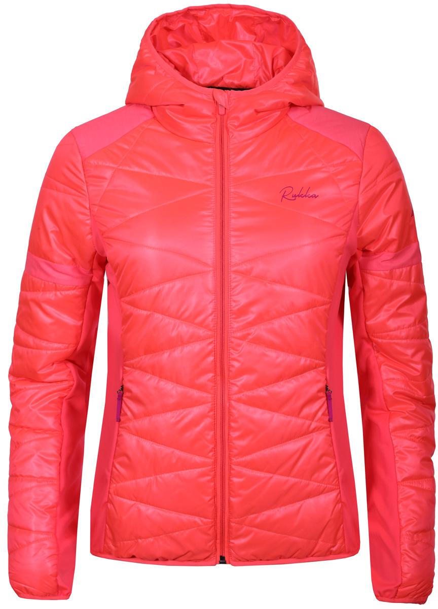 Куртка женская Rukka, цвет: розовый. 878625288R1V_445. Размер 34 (42) топ sweewe sweewe sw007ewxaw33