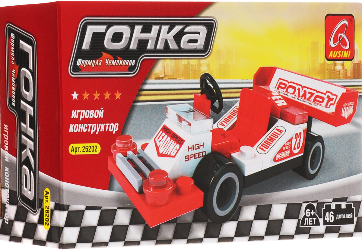 Ausini Конструктор Мини гоночная машинка