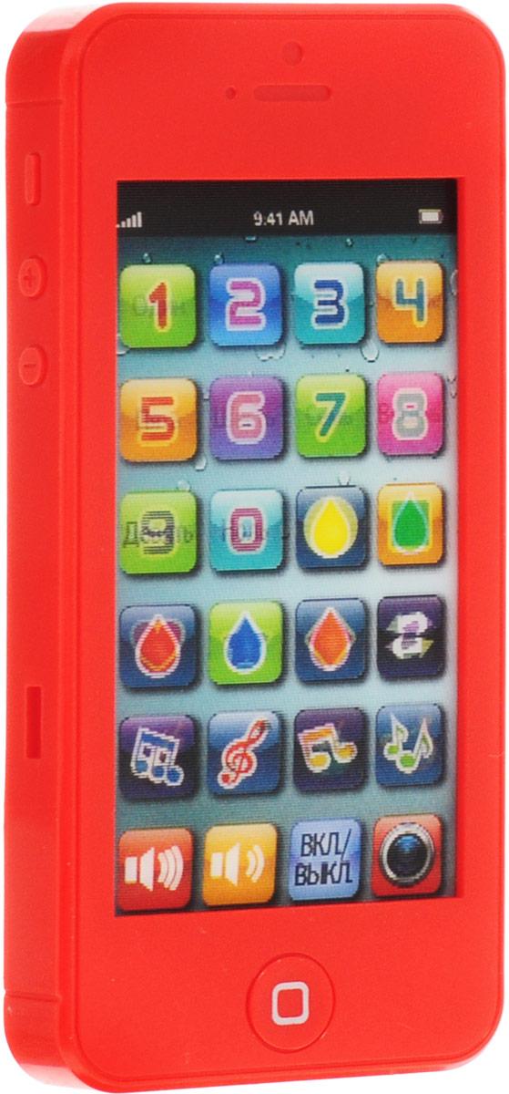 TopToys Игрушечный мобильный телефон цвет красный совет какой телефон 2013