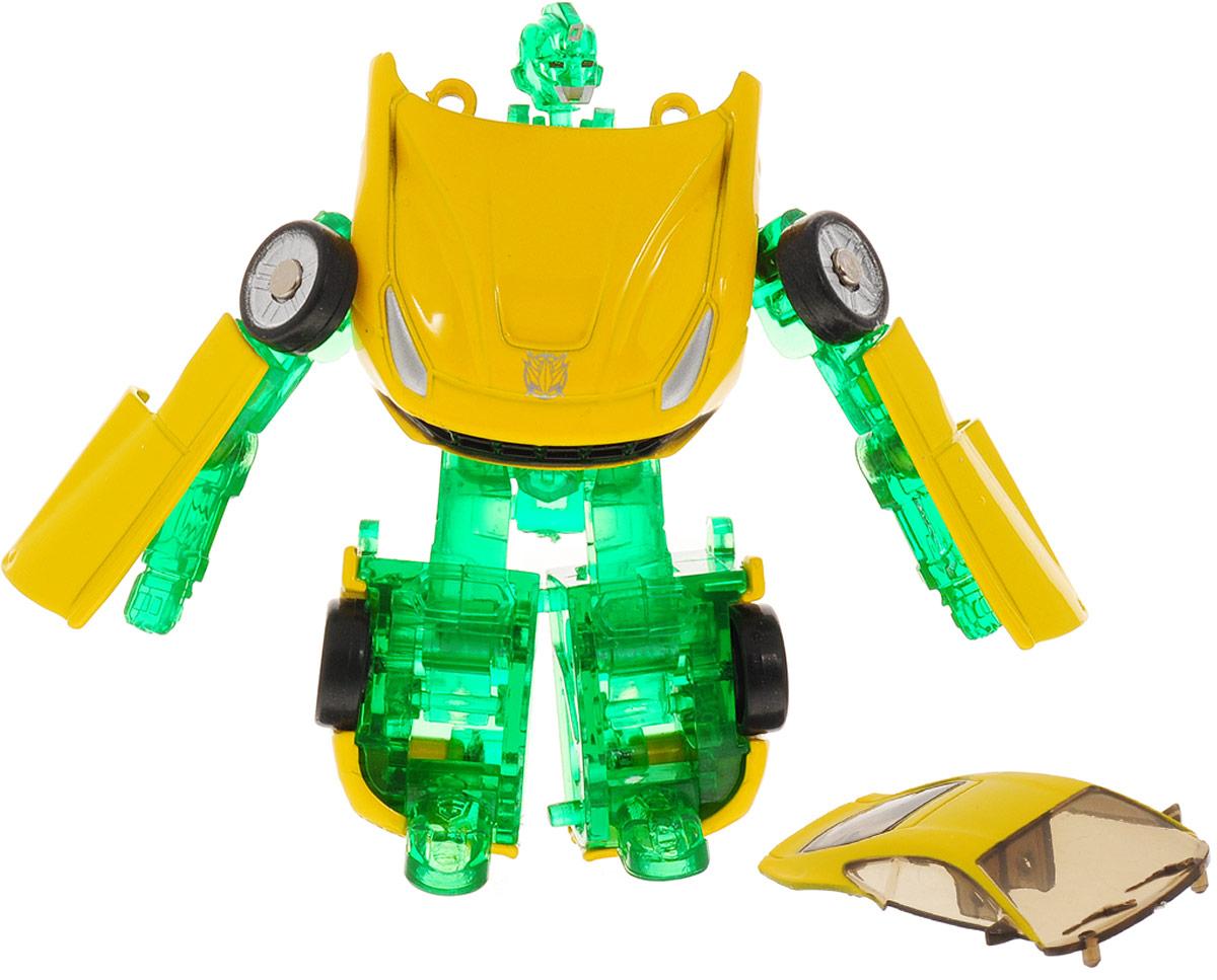 Yako Робот трансформер цвет желтый зеленый