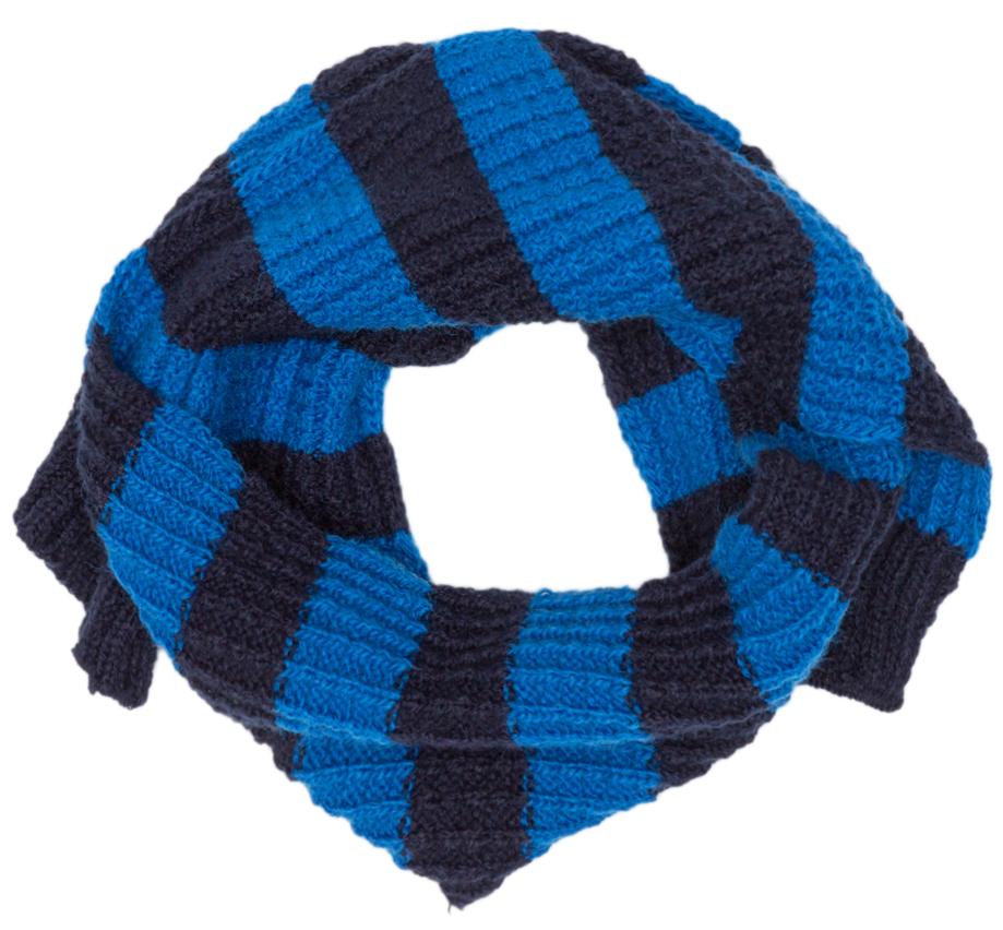 Шарф для мальчика Maloo by Acoola Lepus, цвет: синий. 22156440001_500. Размер универсальный22156440001_500