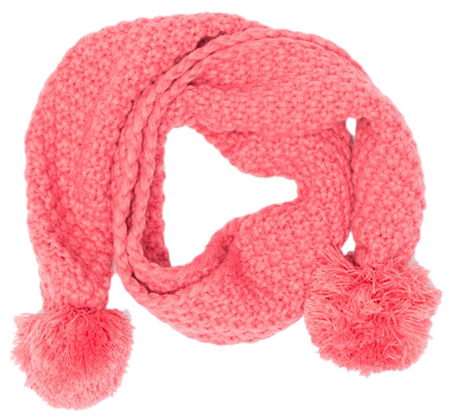 Шарф для девочки Maloo by Acoola Dondum, цвет: розовый. 22256440001_1400. Размер универсальный22256440001_1400