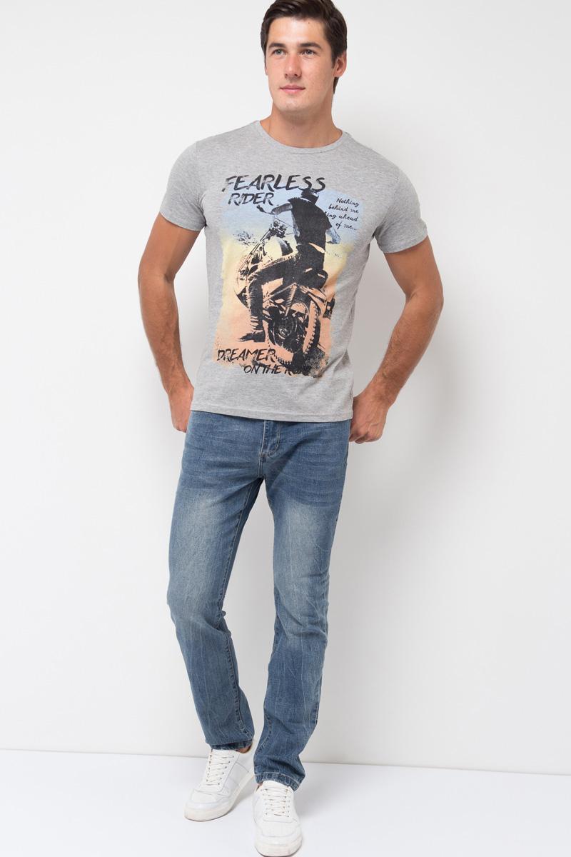 Джинсы мужские Sela, цвет: синий джинс. PJ-235/095-7361. Размер 38-34 (54-34)PJ-235/095-7361Мужские джинсы от Sela выполнены из эластичного хлопка. Модель силуэта Skinny имеет пятикарманный крой: спереди – два втачных кармана и один маленький кармашек, сзади – два накладных кармана. Джинсы в поясе застегиваются на пуговицу, имеют ширинку на застежке-молнии и шлевки для ремня.