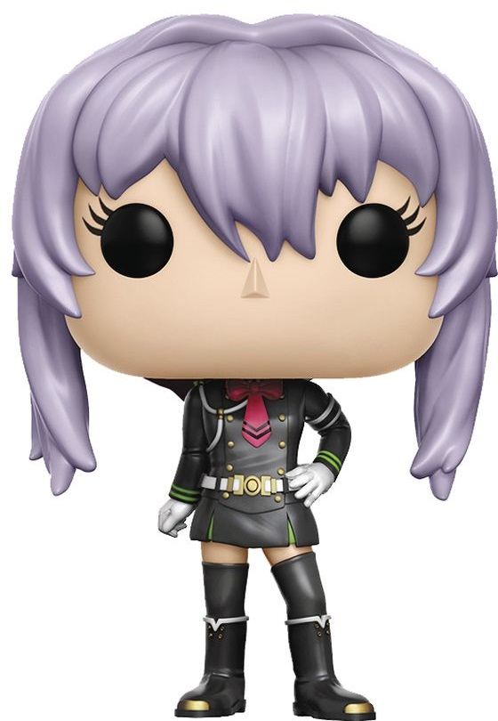 Funko POP! Vinyl Фигурка Seraph of the End: Shinoa Hiragi vintage printing long sleeves shirt
