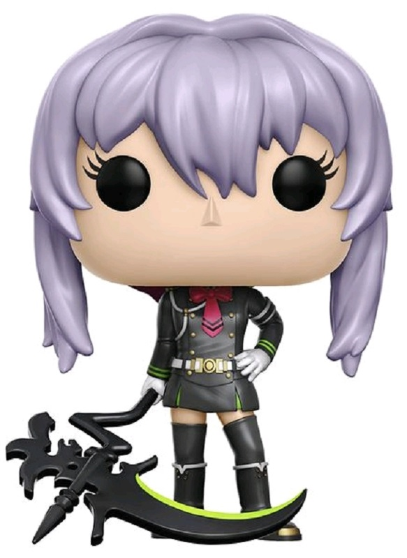 Funko POP! Vinyl Фигурка Seraph of the End: Shinoa with Scythe anime cosplay wig seraph of the end shinoa owari no seraph shinoa hiragi purple braided party costume hair