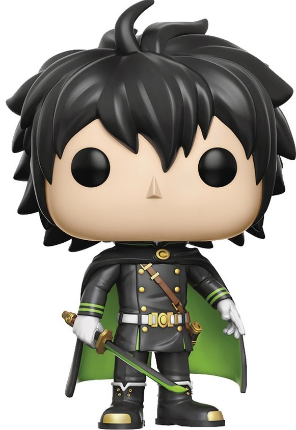 Funko POP! Vinyl Фигурка Seraph of the End: Yuichiro Hyakuya free shipping seraph of the end yuichiro hyakuya boy s uniform cosplay costume acceptable order halloween wholesale
