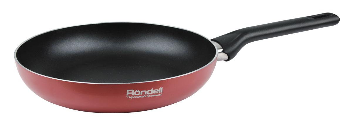 Сковорода Rondell Koralle. Диаметр 26 смRDA-557Сковорода Rondell Koralle с антипригарным покрытием выполнена из алюминия.Толщина дна и высота бортов сковороды оптимальны для различных способовприготовления.