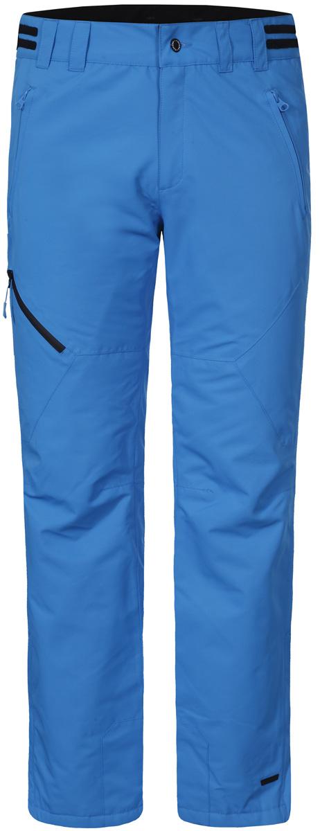 Брюки мужские Icepeak, цвет: голубой. 857090659IV_330. Размер 52857090659IV_330Мужские брюки от Icepeak выполнены из полиэстера. Модель застегивается на пуговицу в талии и ширинку на молнии, имеются шлевки для ремня.