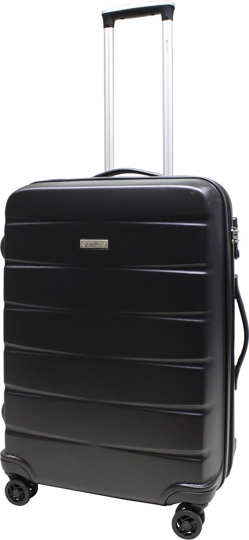 Чемодан Edmins, на колесах, цвет: черный, 67 л. 8158CT-24 чемодан samsonite чемодан 80 см pro dlx 4