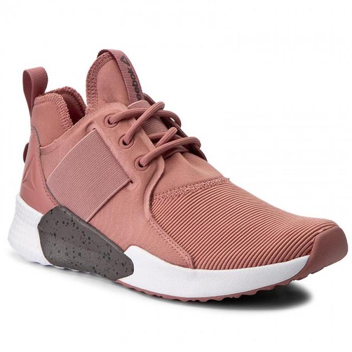 Кроссовки для фитнеса женские Reebok Guresu 1.0, цвет: розовый. BS5919. Размер 6,5 (37)BS5919Оригинальные кроссовки от Reebok выполнены из текстиля, стелька изсинтетического материала. Для изготовления подошвы в данной модели используется прорезиненный материал. В обуви применена технология Ortholite, TurnZone. Кроссовки разработаны для максимально комфортного занятия фитнесом.