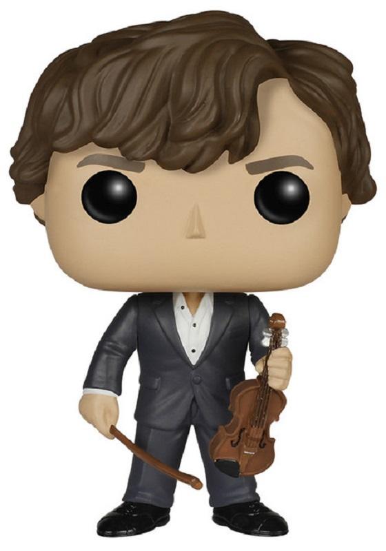 Funko POP! Vinyl Фигурка Sherlock: Sherlock Holmes with Violin детская футболка классическая унисекс printio шерлок холмс sherlock holmes