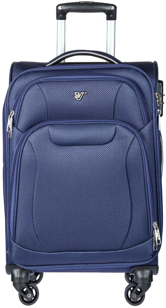 Чемодан-тележка Verage, цвет: синий, 44 л. GM16033w19GM16033w19 navyЗакрывается по периметру на двухстороннюю молнию, оснащён верхней и боковой ручкой, четырьмя колесиками 360°, внутри один отдел для одежды, один карман на молнии, одна техническая молния с бегунком, снаружи на передней стенке два карман на молнии, возможность увеличения чемодана на 20% (за счет молнии), встроенный кодовый замок TSA, максимальная высота выдвижной ручки 59 см, объем 44 л, внутрений размер 34-36-18,5 см, вес 2,9 кг