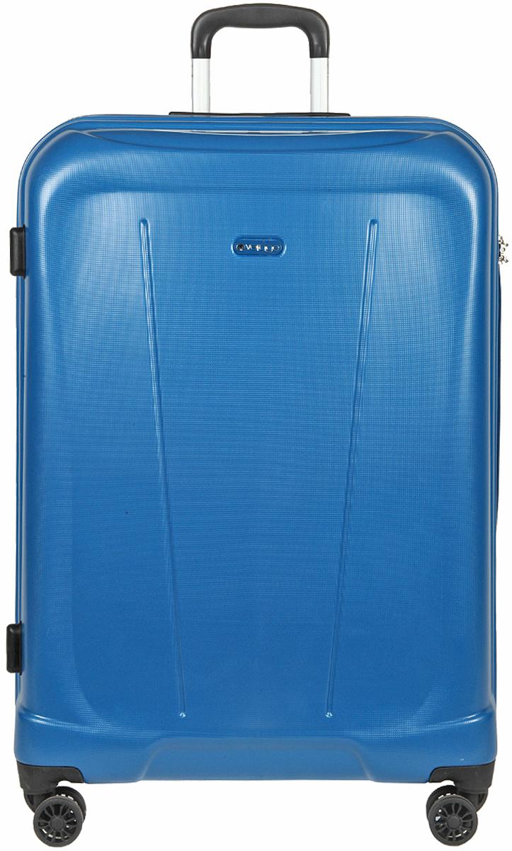 Чемодан-тележка Verage, цвет: синий, 95 л. GM15105w28GM15105w28 blueзакрывается по периметру на двухстороннюю молниюоснащён верхней ручкой, четырьмя колесиками 360°внутри один отдел для одеждыодин сетчатый карман на молнииодна техническая молния с бегункомвозможность увеличения чемодана на 20% (за счет молнии)встроенный кодовый замок максимальная высота выдвижной ручки 40 смобъем 95 лвнутрений размер 70-50-27 смвес 4.9 кг