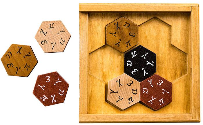 Professor Puzzle Головоломка Гексагон