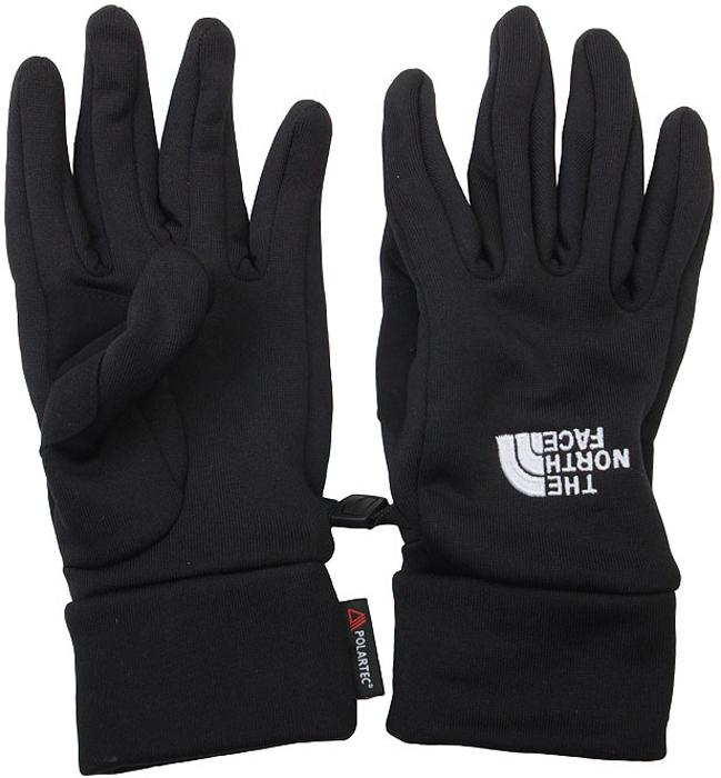 Перчатки The North Face Powersretch Glove, цвет: черный. T0AVDYJK3. Размер M (7,5)T0AVDYJK3Перчатки The North Face Powerstretch Glove защищают руки от холода, сохраняя полную свободу движений пальцев. Тянущаяся в четырёх направлениях эластичная ткань обеспечивает естественное положение кисти и чувствительность. Перчатки подойдут как для самостоятельного использования, так и в качестве утепляющего слоя в холодных условиях высокогорья. The North Face Powerstretch Glove - незаменимые перчатки для всех зимних видов спорта.