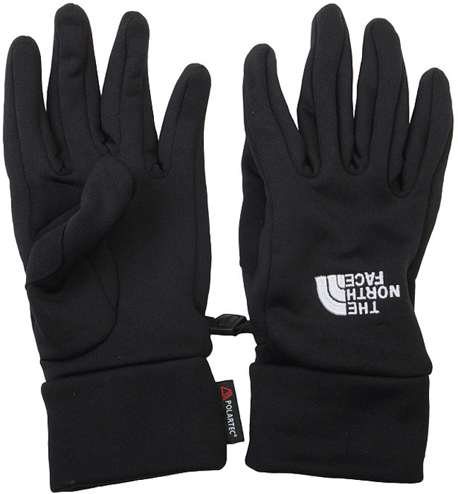 Перчатки The North Face Powersretch Glove, цвет: черный. T0AVDYJK3. Размер XL (8,5)