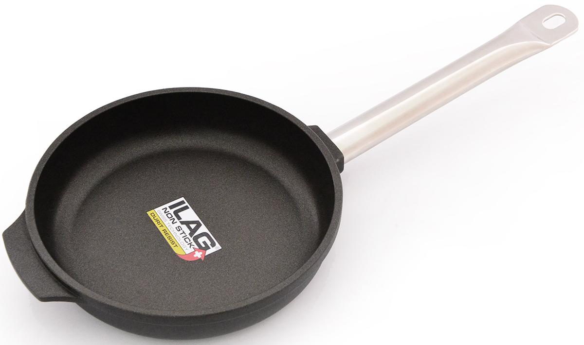Сковорода Fissman Pro, глубокая, с антипригарным покрытием. Диаметр 24 смAL-4205.24