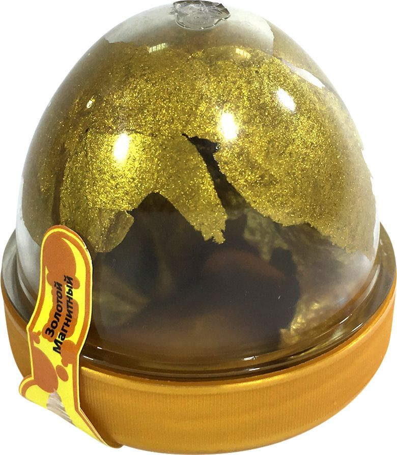 HandGum Жвачка для рук цвет золотой 35 г жвачка для рук меняющая цвет