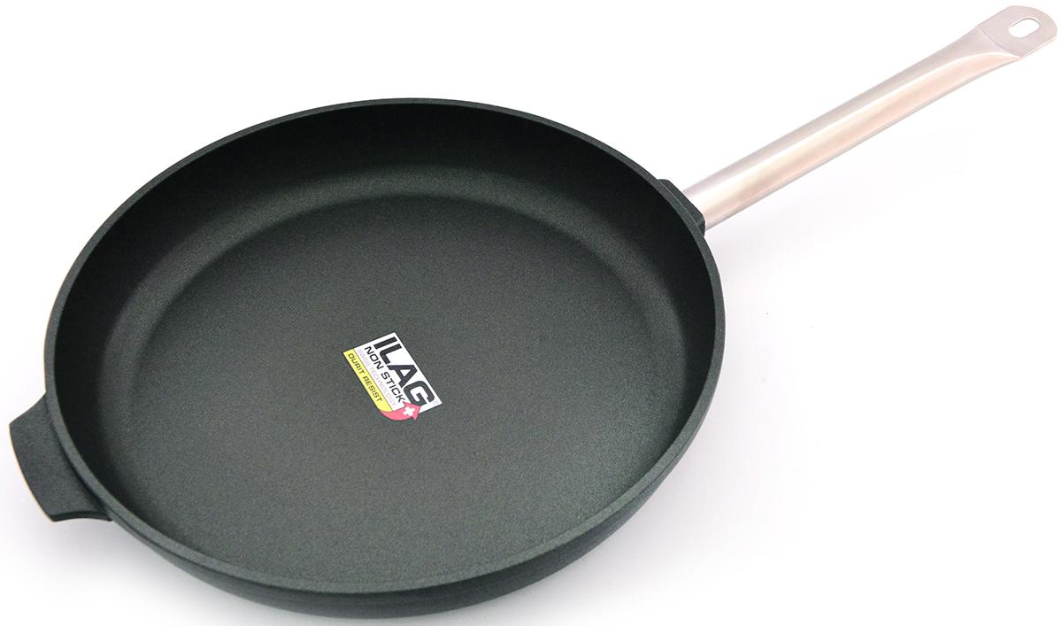 Сковорода Fissman Pro, с антипригарным покрытием. Диаметр 28 см сковорода axentia cucina 4000 с антипригарным покрытием диаметр 28 см