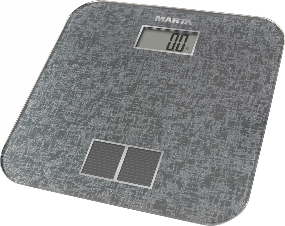 Marta MT-1663, Silver весы напольные - Напольные весы