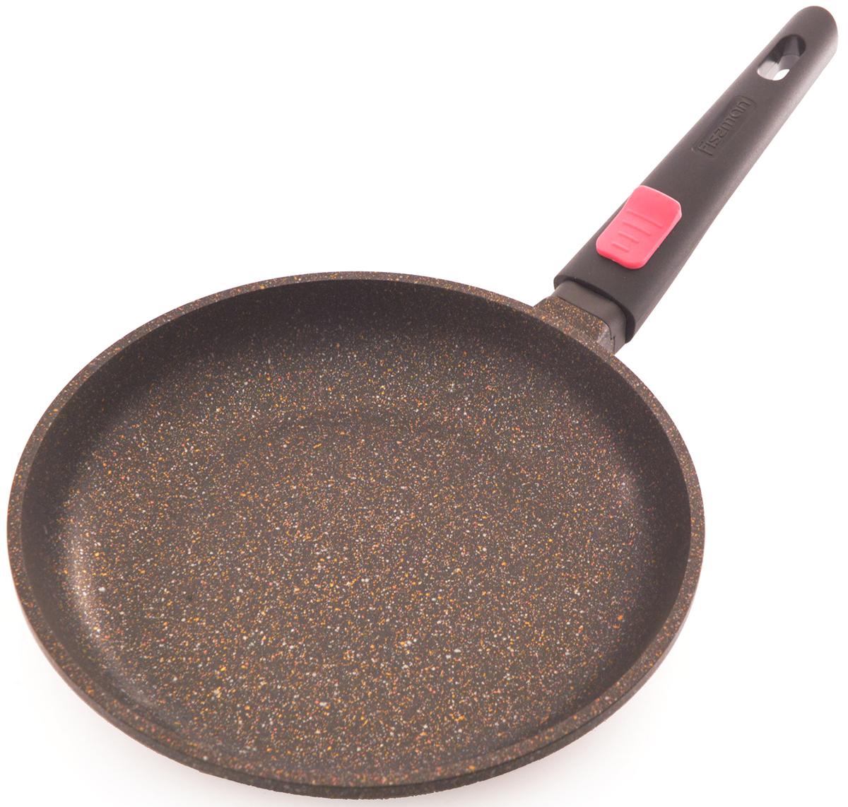 Сковорода Fissman Rebusto, с антипригарным покрытием, со съемной ручкой. Диаметр 24 смAL-4225.24