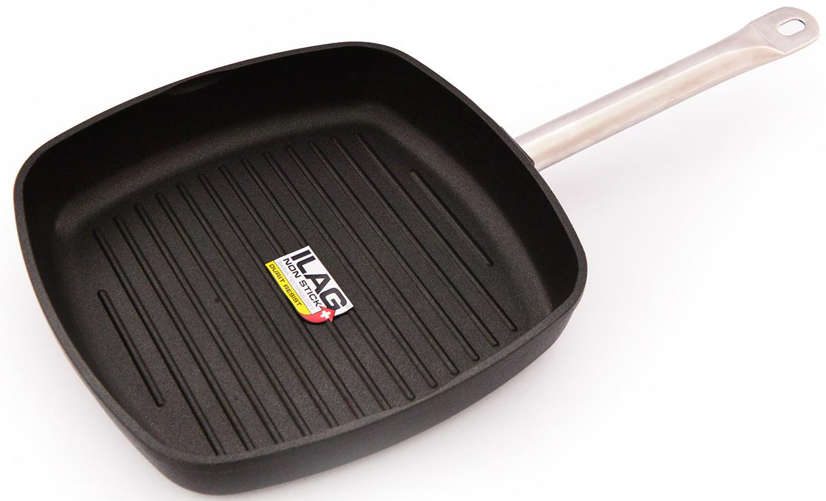 Сковорода-гриль Fissman Pro, с антипригарным покрытием, 28 х28 смAL-4203.28