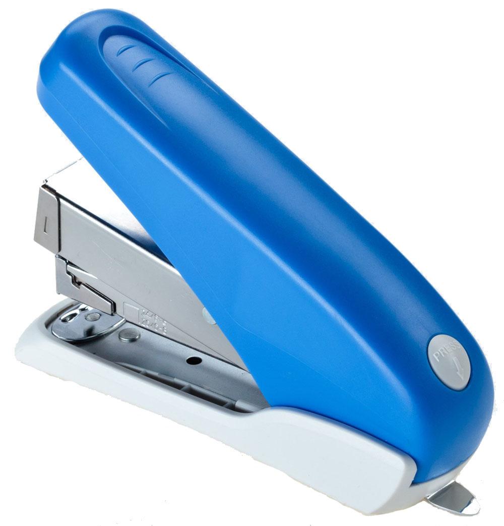 Office Force Stationery Степлер Power Saving цвет синий №24/6 24/8 26/6 26/830061Степлер Office Force Power Saving с эргономичным корпусом и и надежным механизмом. Глубина закладывания бумаги: до 58 мм.Толщина пробивания: до 40 листов бумаги плотностью 80 г/м.Тип и размер применяемых скоб: 24/6; 24/8; 26/6; 26/8.Вместимость контейнера: до 100 скоб.Режим сшивания листов: закрытый. Материал: пластик, металл.Размер: 149 мм х 102 мм х 41 мм.Наличие антистеплера. Можно хранить вертикально и горизонтально.
