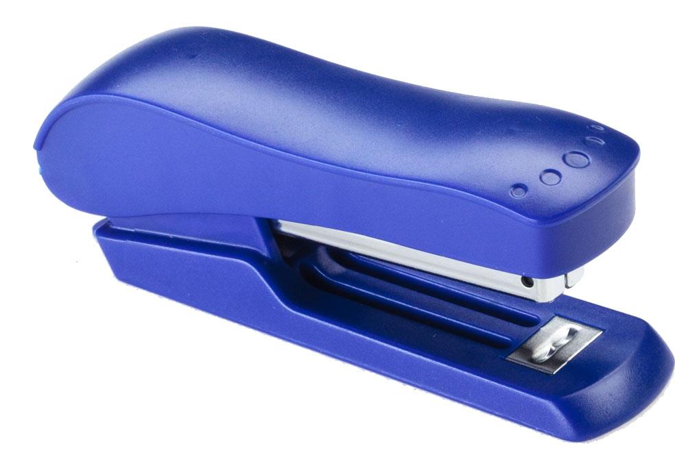 Office Force Stationery Степлер Wave 3016, цвет синий, до 20 листов -  Степлеры, дыроколы