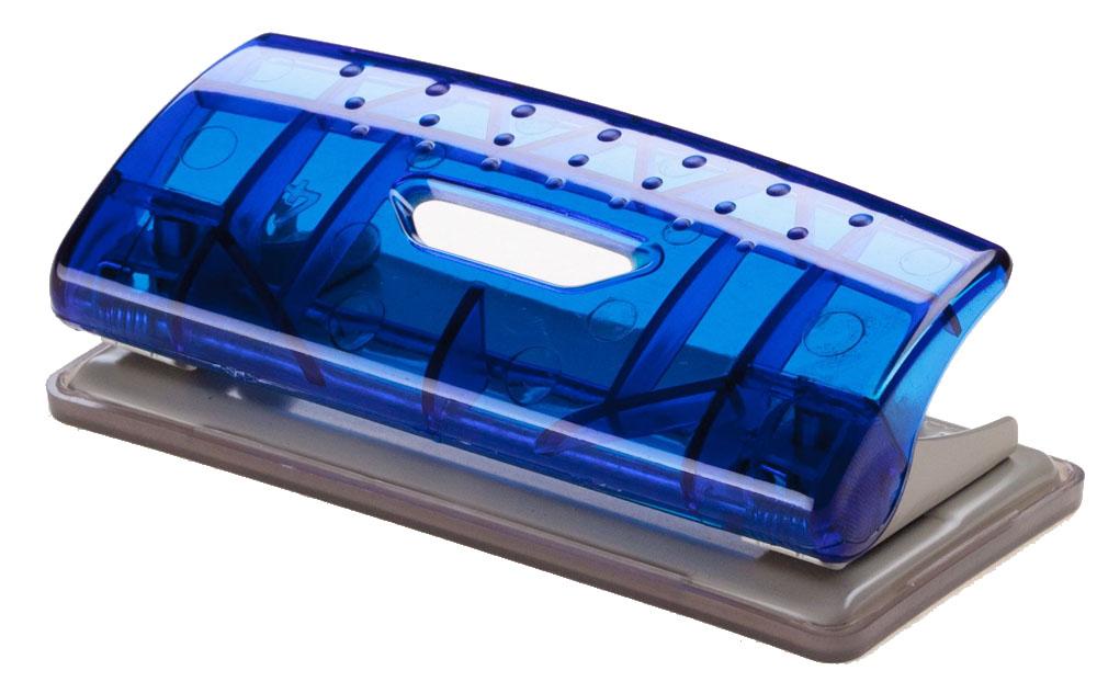 Office Force Stationery Дырокол Mini Transparent 6 листов 2 отверстия цвет синий35023Дырокол Office Force серии Transparent Mini. Прозрачный корпус выполнен из прочного пластика с металлической основой. Толщина пробивания - до 6 листов, 80г/м2. Пробивает 2 отверстия, диаметром 6 мм. Расстояние между отверстиями 80 мм. Нескользящая прорезиненная подошва, контейнер для сбора конфетти.