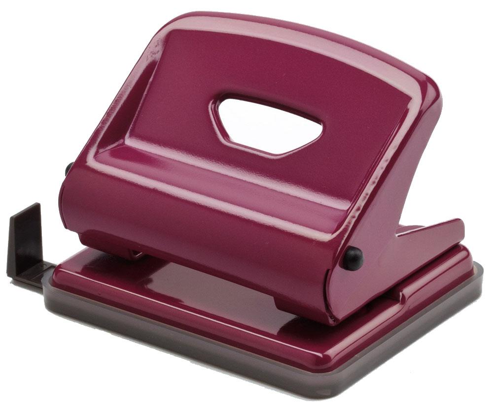 Office Force Stationery Дырокол Medium 25 листов 2 отверстия цвет пурпурный35216Дырокол Office Force серии Medium с эргономичным упором оснащен форматной линейкой A4, A5, A6, 888. Корпус выполнен из металла. Толщина пробивания - до 25 листов, 80г/м2. Пробивает 2 отверстия, диаметром 6 мм. Расстояние между отверстиями 80 мм. Наличие специальных фиксаторов обеспечивает возможность хранения дырокола в сложенном виде. Нескользящая прорезиненная подошва, контейнер для сбора конфетти.