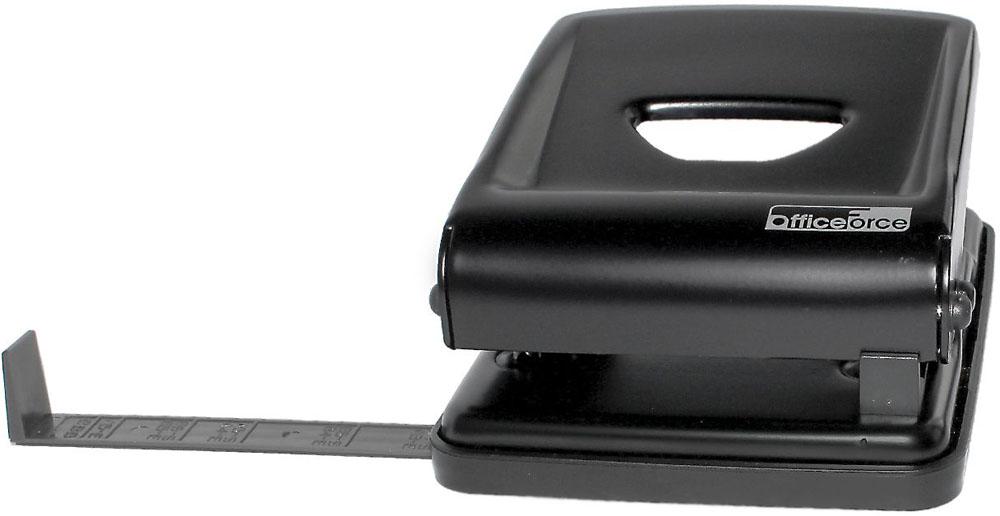Office Force Stationery Дырокол Heavy Duty 40 листов 2 отверстия цвет черный -  Степлеры, дыроколы