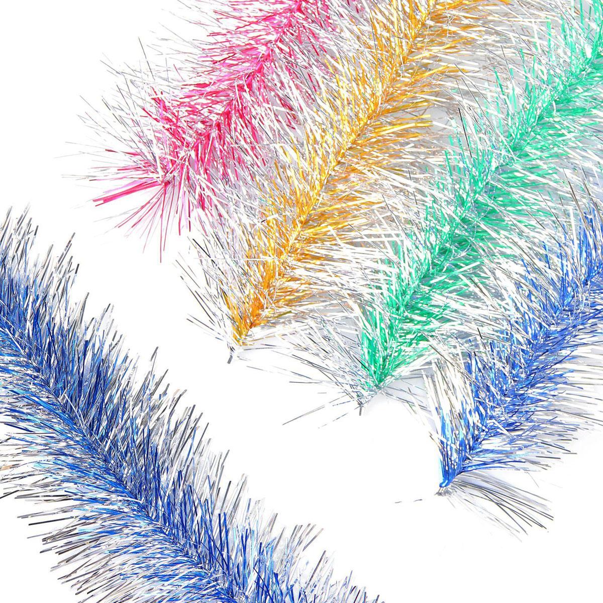 Мишура новогодняя Sima-land №14 пушистая елочка, цвет: серый металлик, диаметр 10 cм, длина 2 м. 25666572566657Невозможно представить нашу жизнь без праздников! Мы всегда ждем их и предвкушаем, обдумываем, как проведем памятный день, тщательно выбираем подарки и аксессуары, ведь именно они создают и поддерживают торжественный настрой.