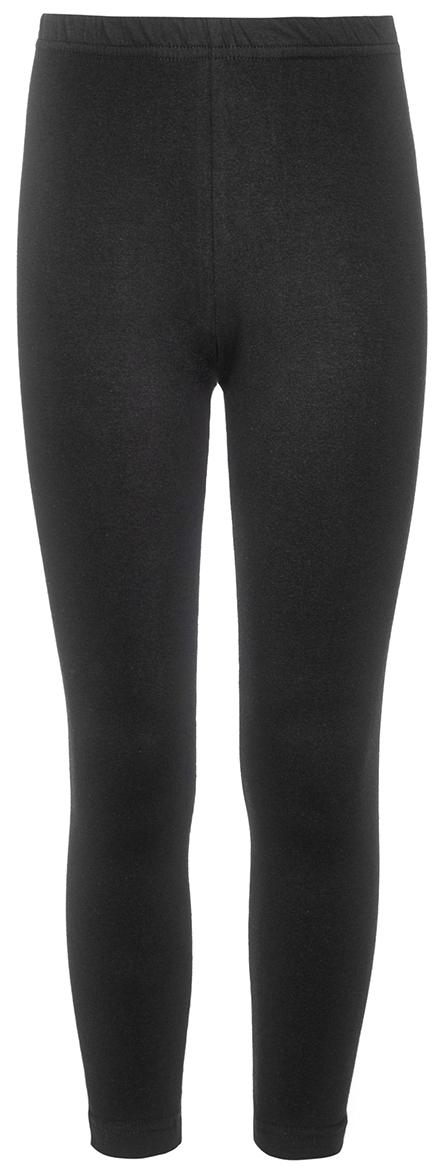 Леггинсы для девочки M&D, цвет: черный. WKJL27059M21. Размер 122WKJL27059Леггинсы для девочки выполнены из однотонного трикотажного полотна. Удлиненные, прилегающего силуэта, пояс на резинке.