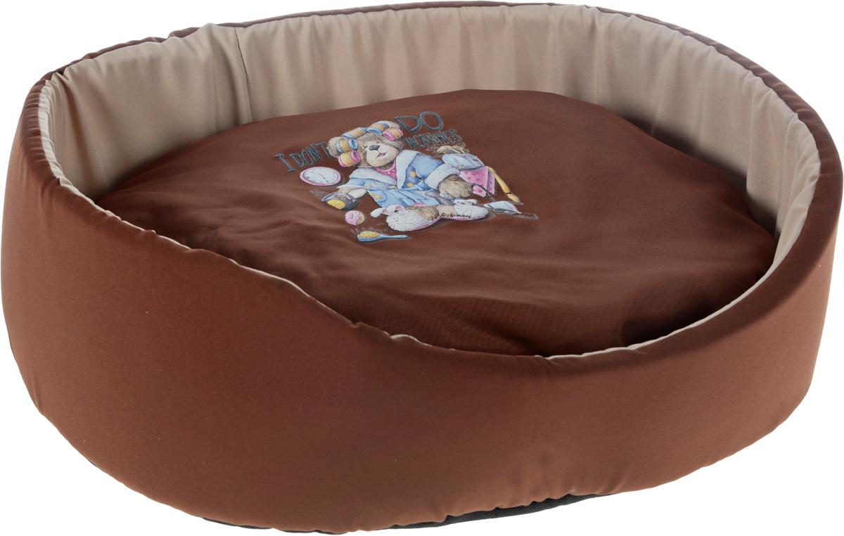 Лежак для животных GLG Картинка, цвет: коричневый, бежевый, 54 x 46 x 17 смL003/C_коричневый, бежевыйМягкий лежак GLG Картинка обязательно понравится вашему питомцу. Он выполнен из хлопка и полиэстера, а наполнитель - из мягкого поролона. Такой материал не теряет своей формы долгое время.Лежак оснащен мягкой съемной подстилкой. Высокие бортики обеспечат вашему любимцу уют. Мягкий лежак станет излюбленным местом вашего питомца, подарит ему спокойный и комфортный сон, а также убережет вашу мебель от шерсти.
