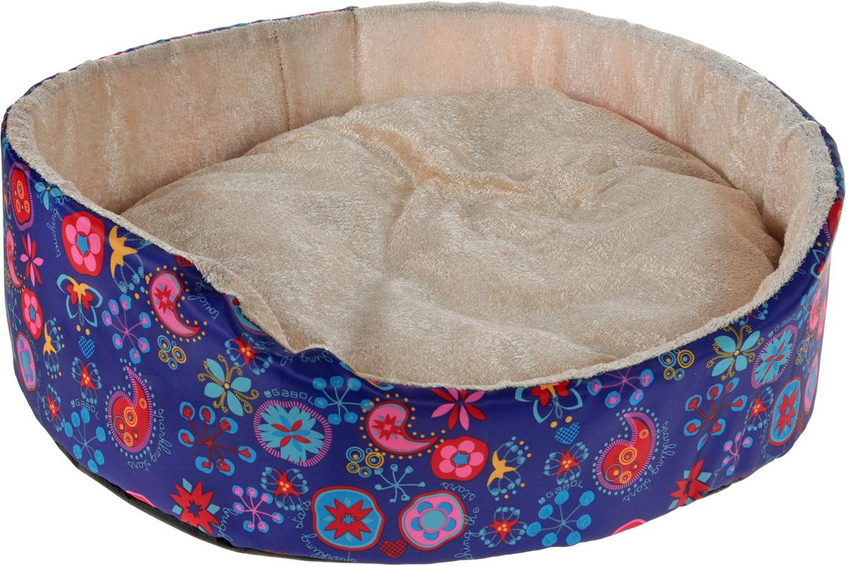 Лежак для животных GLG Нежность, цвет: фиолетовый, красный, голубой, бежевый, 54 х 46 х 17 смL002/C_фиолетовый, красный, голубой, бежевыйМягкий лежак GLG Нежность обязательно понравится вашему питомцу. Он выполнен из высококачественных материалов. Такие материалы не теряют своей формы долгое время.Лежак оснащен мягкой съемной подстилкой, которую можно снять и постирать. Высокие бортики обеспечат вашему любимцу уют. Мягкий лежак станет излюбленным местом вашего питомца, подарит ему спокойный и комфортный сон, а также убережет вашу мебель от шерсти.