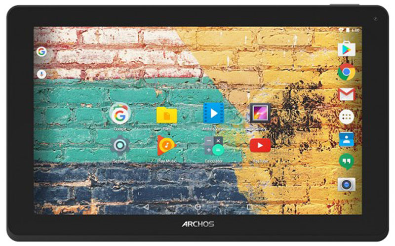 Archos 116 Neon 16GB, Black Grey