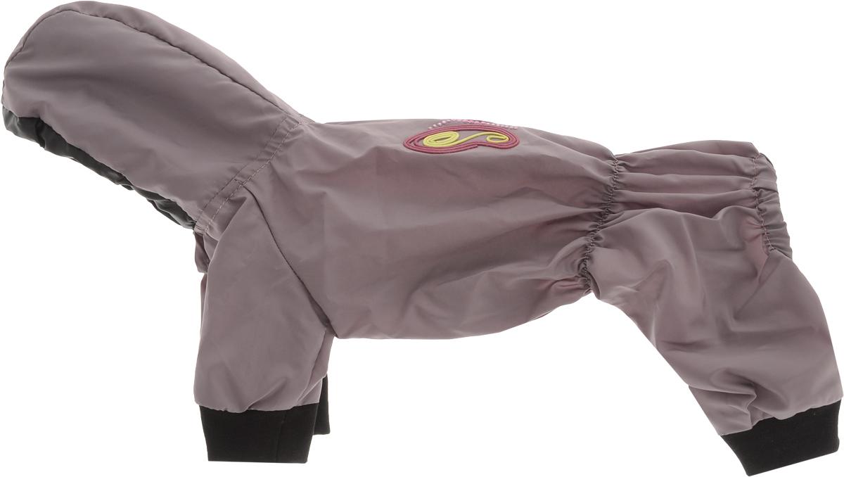 Дождевик прогулочный для собак Pret-a-Pet  Бабочка , цвет: лиловый. Размер XS