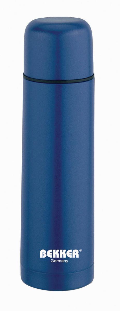 Термос Bekker BK-4036 металлический, 0.5 лBK-4036 (30)Термос д/горячих и холодных напитков 0,5 л, двойные стенки, вакуумная кнопка, цветное покрытие корпуса (красный, синий, серебристый). Чехол в комплекте. Состав: нержавеющая сталь 18/8
