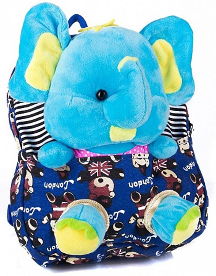 Рюкзак для мальчика Vitacci, цвет: синий. 1000000008 рюкзак для мальчика elisir цвет черный de dv009 gs0007 000