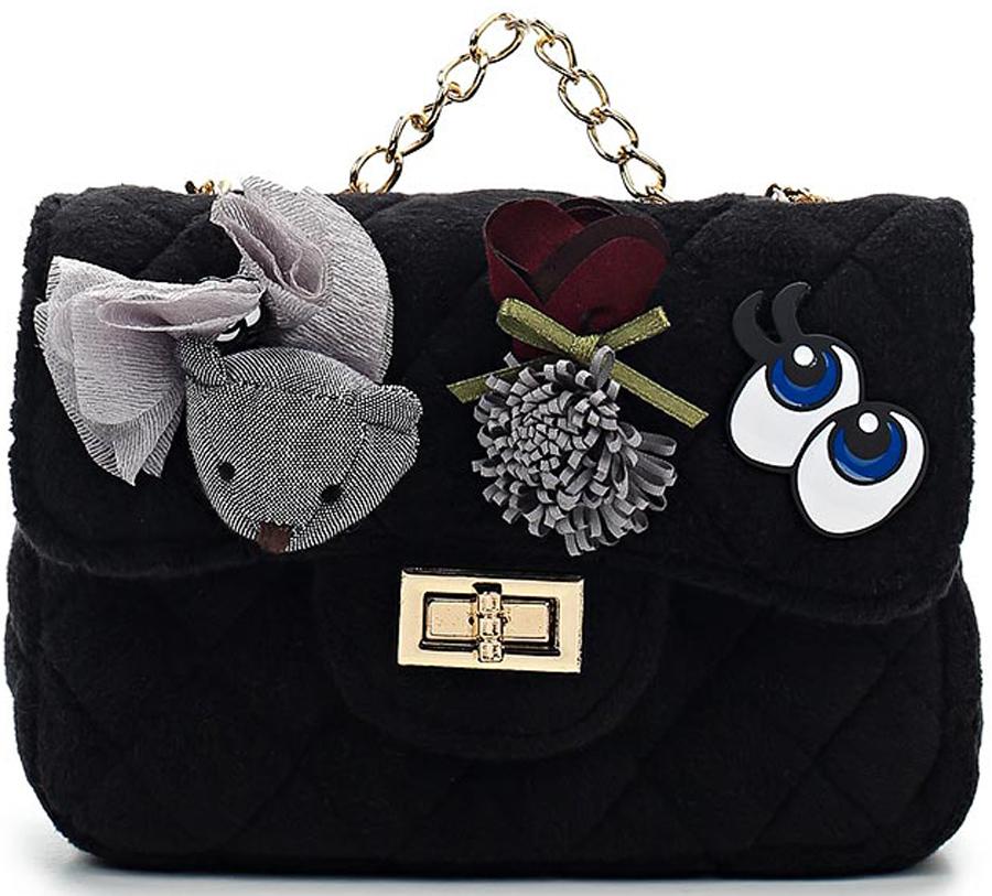Сумка для девочки Vitacci, цвет: черный. 1000000705 сумка для девочки vitacci цвет черный 1000000704