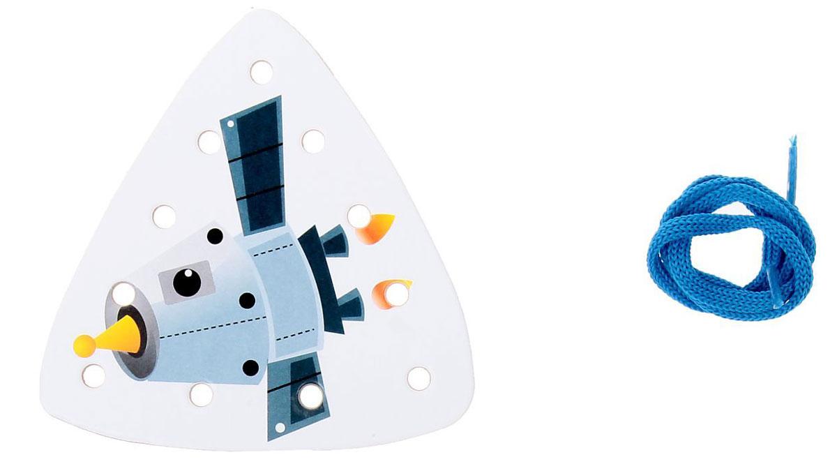 Ракета Шнуровка-раскраска Спутник ракета носитель спутник р 7 1 144 14450