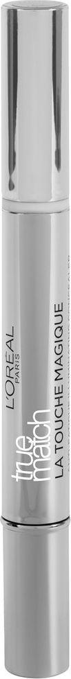 LOreal Paris Консилер-хайлайтер для лица True Match Touch Magique, оттенок 1R, светлый, 1,8 млA5534052Благодаря консилеру True Match Touch Magique лицо выглядит ухоженным и свежим. Он имеет легкую текстуру, позволяющую скрыть круги под глазами, следы усталости и другие несовершенства, не перегружая кожу. Основа формулы – уникальный компонент Флюид Андерсена. В его состав включены светоотражающие мини-пластинки, которые создают эффект естественного сияния.Оттенок 1R – подходит светлой коже с теплым подтоном. Ультралегкие пигменты, сливающиеся с кожей, позволяют скорректировать несовершенства тона в одно касание.