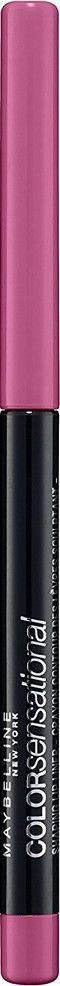 Maybelline New York Механический карандаш для губ Color Sensational, оттенок 60, Бледно-розовый, 6 гB2851700Впервые насыщенный и стойкий цвет в удобной форме карандаша для губ. 8 оттенков подобраны таким обрязом, чтобы сочетаться с самыми популярными и разнообразными оттенками помады.