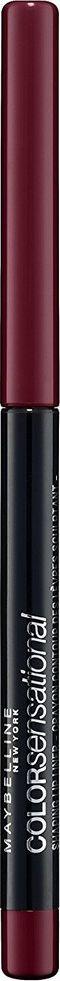 Maybelline New York Механический карандаш для губ Color Sensational, оттенок 110, Насыщенно винный, 6 г карандаш для губ maybelline new york color sensational shaping lip liner 110 цвет 110 насыщенно винный variant hex name 925564