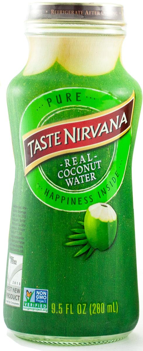 Taste nirvana Real Coconut Water напиток без мякоти, 0,28 лБМ100280Натуральная кокосовая вода с мякотью Real Coconut Water Pulp Nirvana Foods является натуральным естественным продуктом. Для изготовления кокосовой воды* используются лучшие молодые кокосы, чтобы подарить полюбившийся всем вкус.Знаменитая дельта Мае Клонг снабжает семейную плантацию Taste Nirvana большим количеством воды. Благодаря идеальному сочетанию речной и морской воды, кокосы на этой плантации чуть-чуть больше и слаще, чем в других регионах Таиланда. Они зреют в первозданных условиях, без ГМО и химии. Каждый день здесь выбираются лучшие кокосы, сок которых бережно сохраняется в этих небольших бутылочках. Утоляйте жажду свежестью натуральной кокосовой воды, а не искусственным вкусом других напитков.