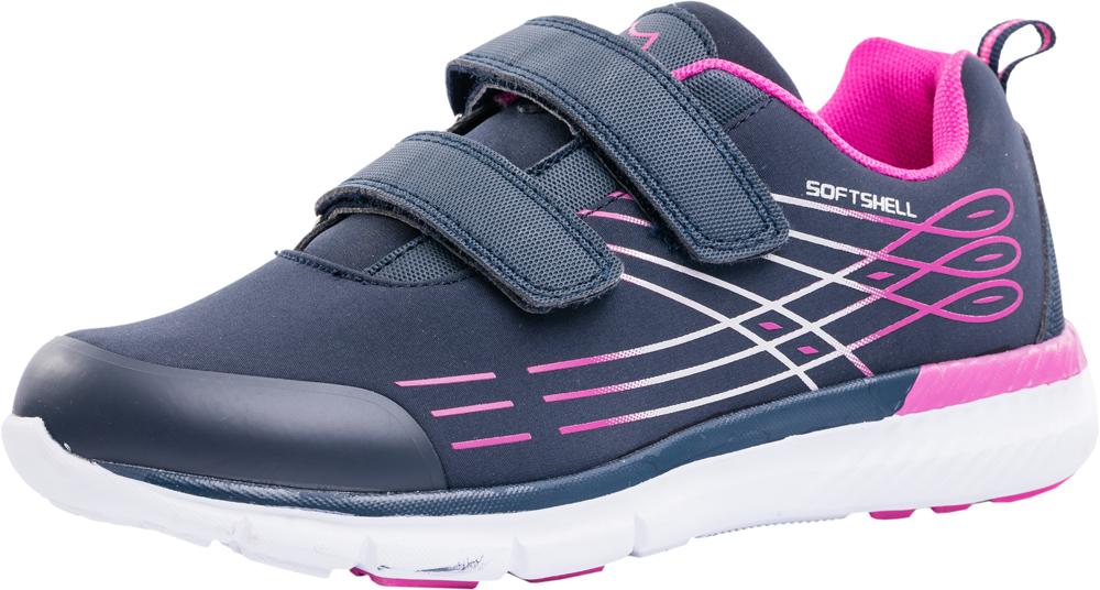 Кроссовки для девочки Котофей, цвет: темно-синий. 744098-71. Размер 40744098-71Яркие кроссовки от Котофей – лучшее решение для подвижных детей. Модель изготовлена из материала SoftShell. Основная концепция обуви с верхним слоем из материала SoftShell защитить от непредсказуемых погодных условий, при этом сохраняя комфортный микроклимат внутри. Внешний слой отталкивает влагу, обладает эластичностью и повышенной прочностью. Внутренний слой — сохраняет тепло и позволяет ноге дышать. Наиболее прогрессивная разработка в мировом производстве обуви. Кроссовки из материала SoftShell универсальны. Они подходят для комфортного использования, как в спортзале, так и на улице.