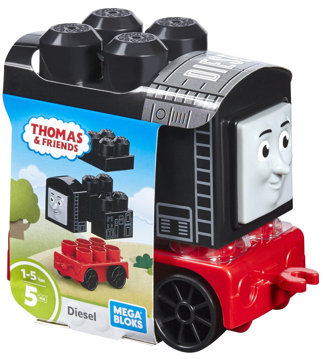 Mega Bloks Thomas & Friends Конструктор Паровозик Дизель конструкторы mega bloks томас и друзья томас и гарольд